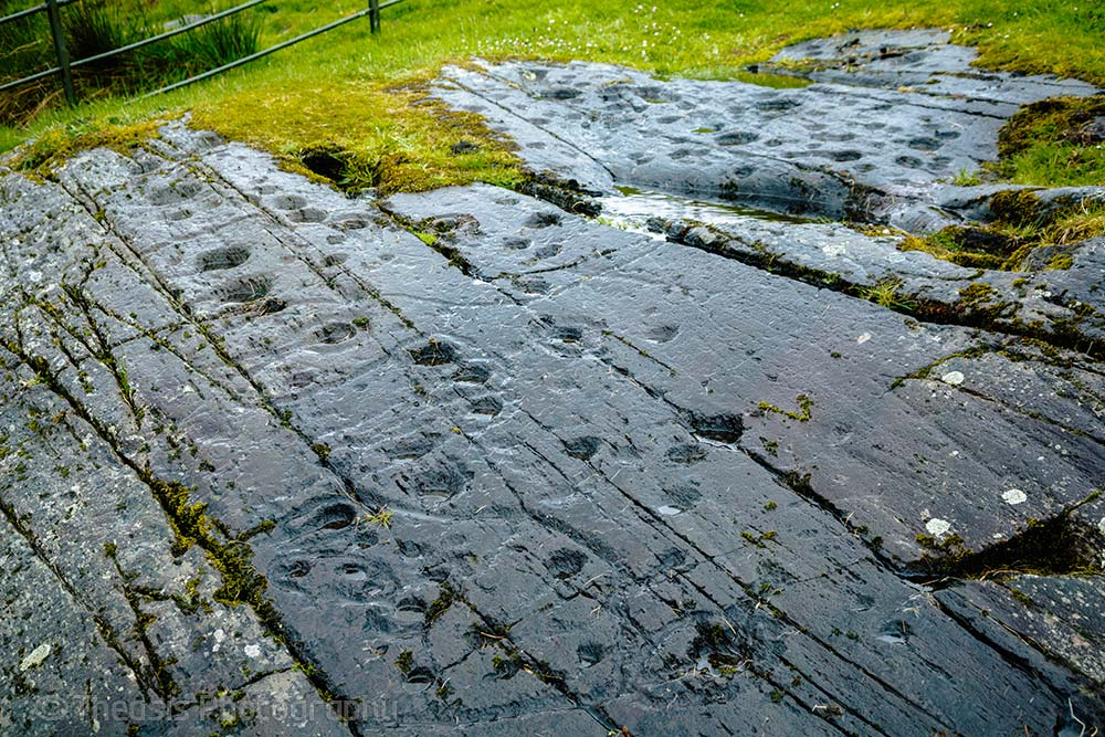 Kilmichael Glassary Decorated Rock Sheet Ancient Scotland