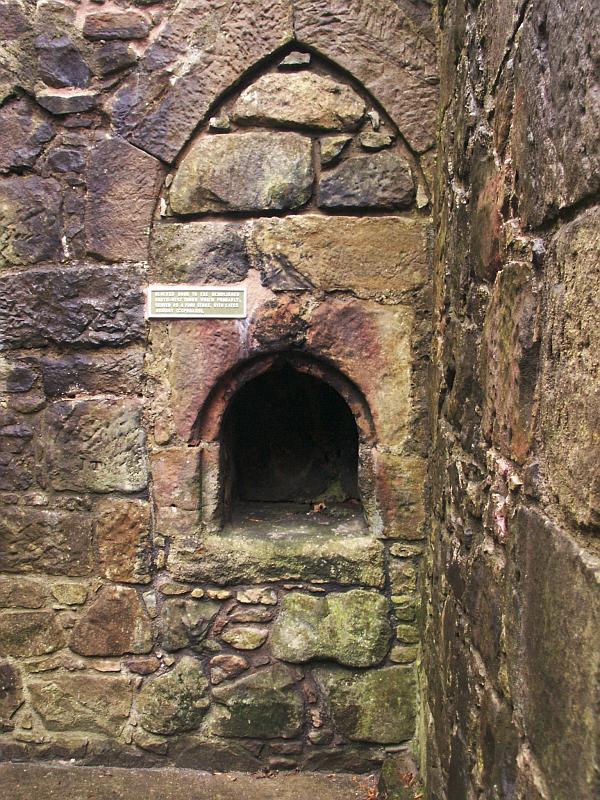 Crookston Castle Ancient Scotland