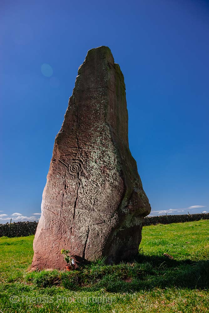 Carvings on Long Meg