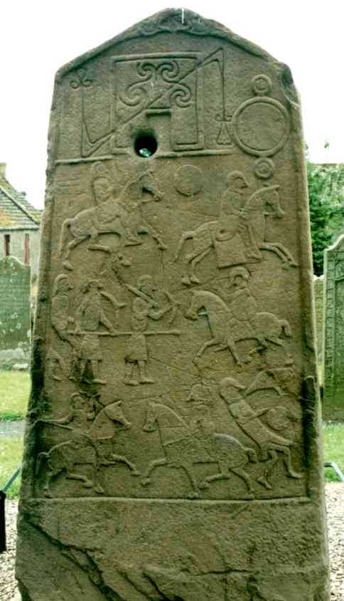 The symbol side of Aberlemno II.
