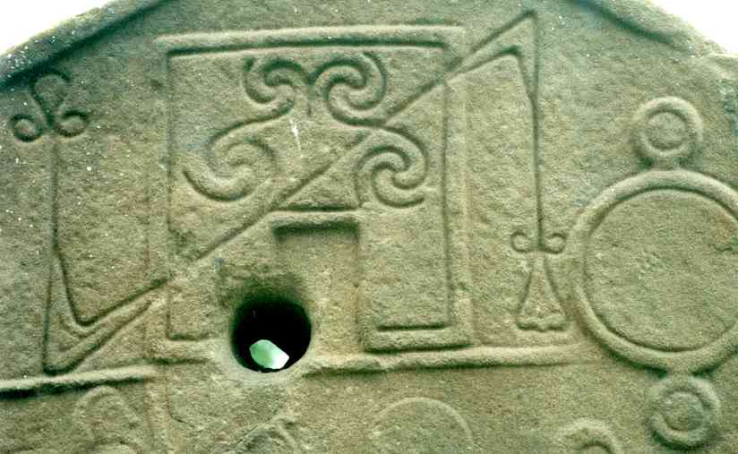 Detail of the symbols.