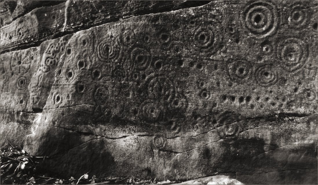 Another view of some of the more unusual marks.