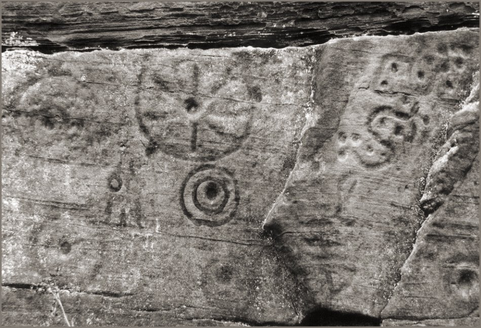 Detail of some of the stranger carvings.