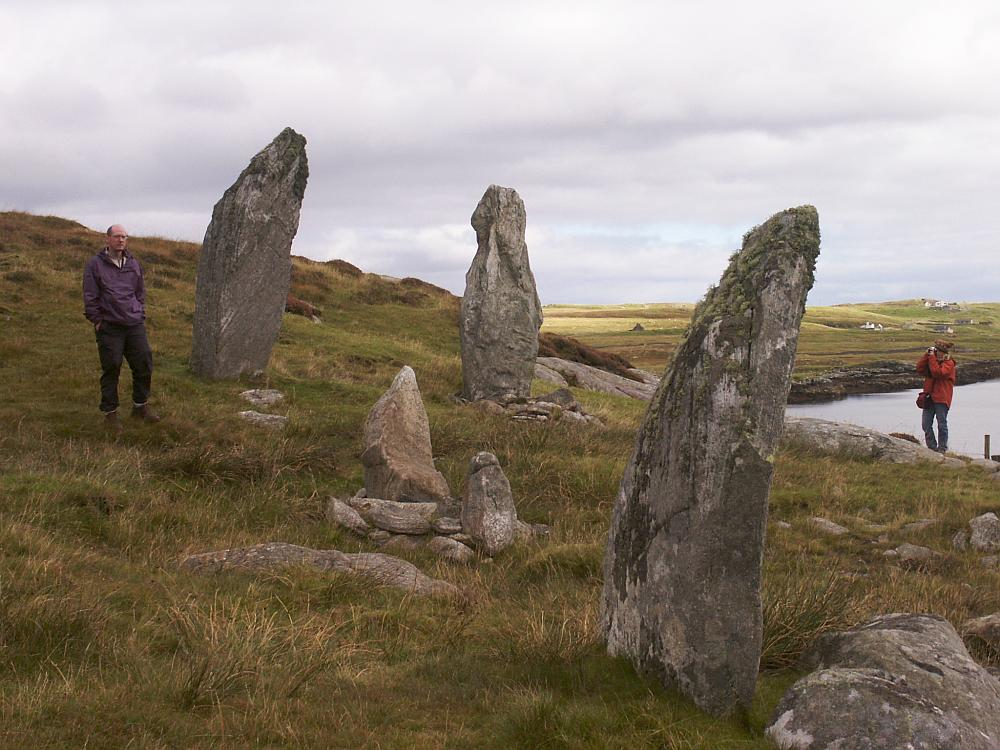Looking east from the western stones.
