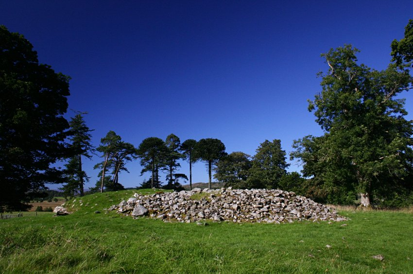 The cairn from the south.