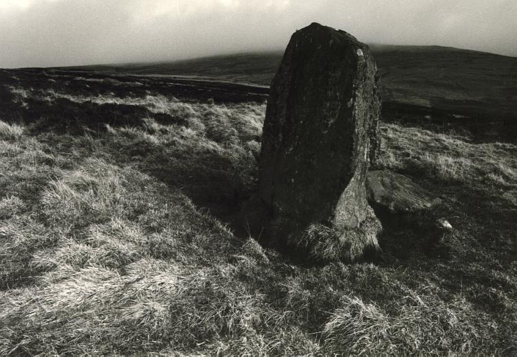 The Wallace stone, looking east.