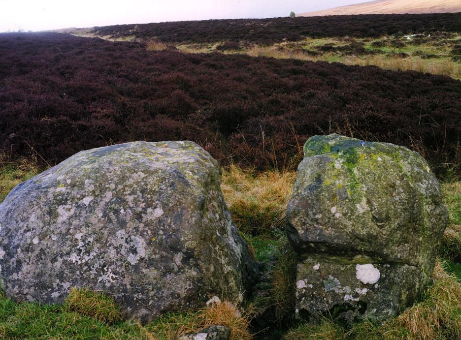 The fourth stone in colour.  Again, looking towards the Wallace stone on the horizon.