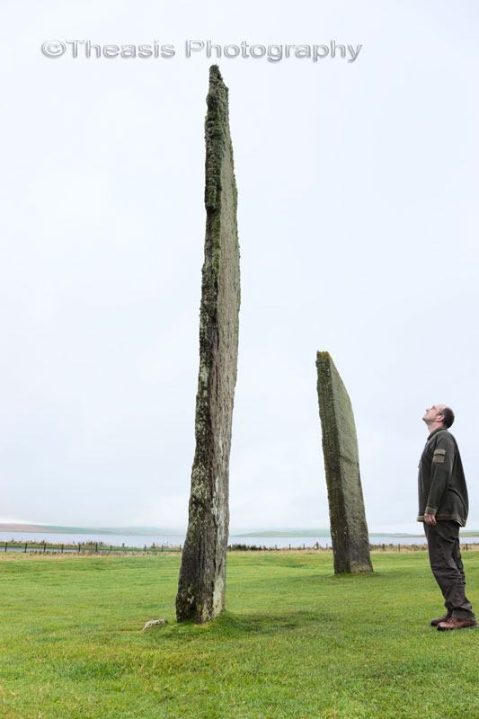 Your Humble Author at the Stones of Stenness, Autumn 2011